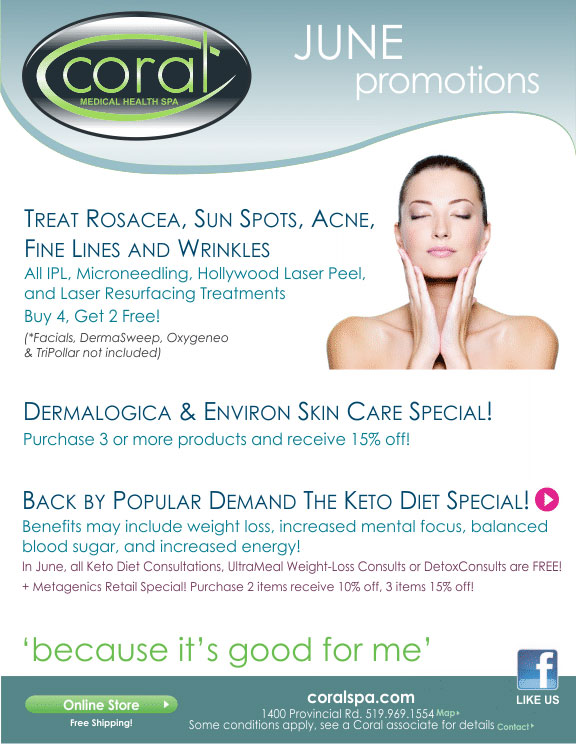 aa8e360c5c915 Monthly Promotions | Coral Medical Health Spa | The Top Spa in ...